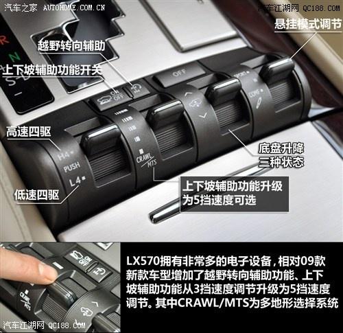 北京雷克萨斯越野车报价 雷克萨斯570多少钱高清图片