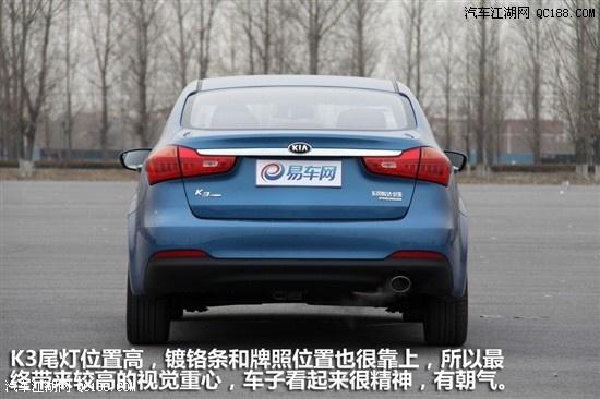 2013款起亚K3而设计恰恰是新一代起亚汽车最主要的卖点高清图片