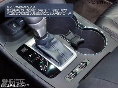 【丰田汉兰达】 全新汉兰达图解 2013纽约车展静态评测 汉兰达现车