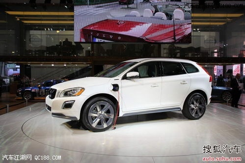 沃尔沃XC60 新款油电混合动力高清图片