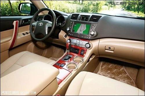 广汽丰田12款汉兰达直降4万销售全国高清图片