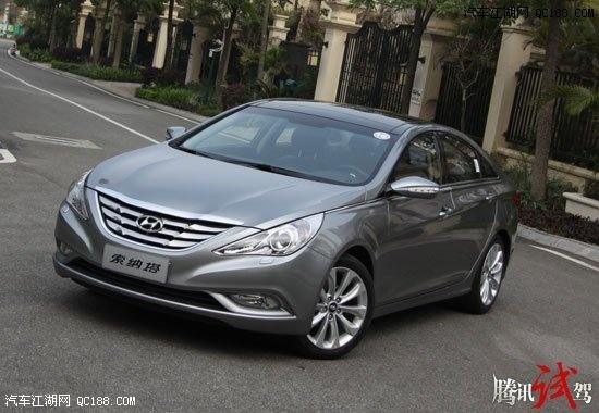 试驾北京现代全新索纳塔-2013款现代索纳塔八 最低优惠 最低价格 最高清图片