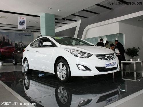 2012款现代朗动白色_现代朗动最高综合优惠3万 现车销售全国_汽车江湖