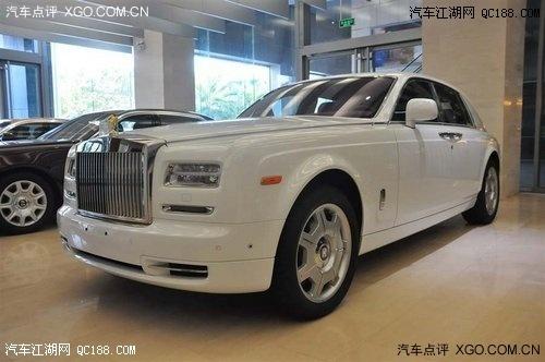 劳斯莱斯幻影现车多少钱一台 劳斯莱斯幻影现车多少钱一辆高清图片