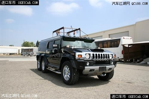6轮悍马H6加长版5.99米北京现车销售