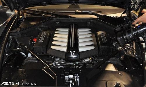 劳斯莱斯古思特的V12发动机-劳斯莱斯古斯特报价图 劳斯莱斯古斯特高清图片