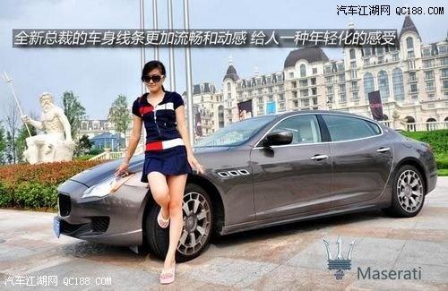 十年磨一剑试驾阴柔皇后 玛莎拉蒂总裁 北京 高清图片