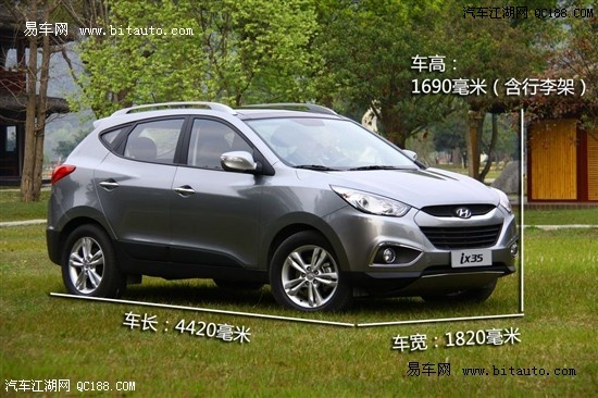 笑的SUV——北京现代ix35-现代越野车报价 现代ix35SUV报价及图片高清图片