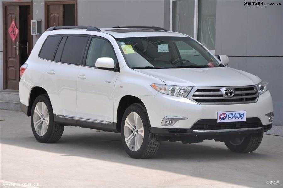 丰田汉兰达外观新颖内室豪华 乘驾舒适 优惠5万售全国高清图片