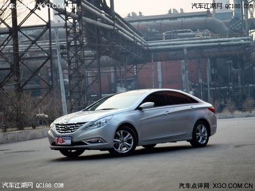 北京现代索纳塔2.0多少钱 2013款索8最高优惠5万高清图片