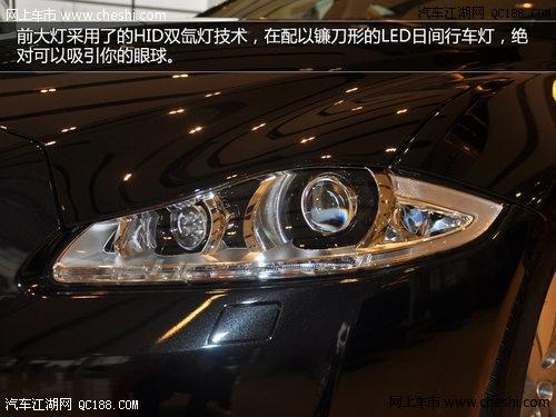 2014款捷豹XJ在外形设计上依然延续与老款车型的特征,时尚、豪华高清图片