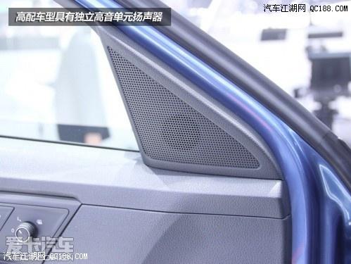能按键也与大众汽车一贯的设定相一致,左侧为音量调节而右侧则为高清图片