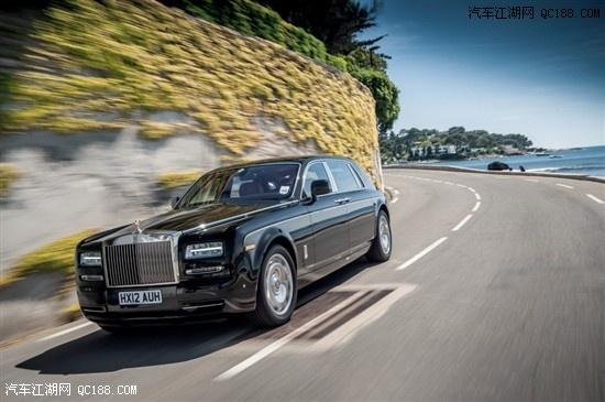 劳斯莱斯最豪华的车 幻影加长版限量版 高清图片