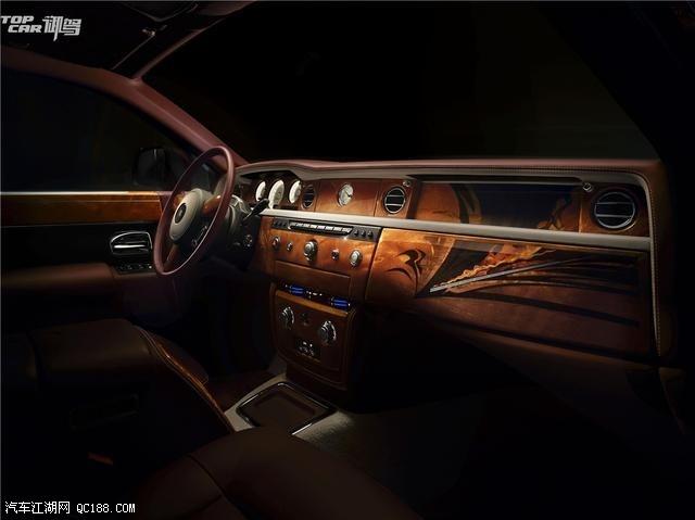 劳斯莱斯汽车巅峰之旅幻影典藏版-劳斯莱斯幻影多少钱 劳斯莱斯加长高清图片