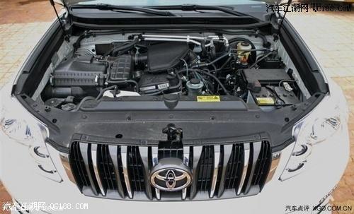 丰田普拉多2700中规版最低多少钱 2013款丰田霸道4000最低油耗高清图片