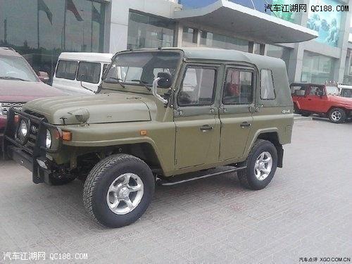 北京吉普212最低报价高清图片