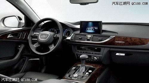汽车后面t和l-2014款奥迪A6L还对局部内饰设计、电子稳定程序、MMI信息娱乐系统高清图片