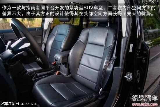 作为一款与指南者同平台开发的紧凑型suv车型,二者在内部空间方面高清图片