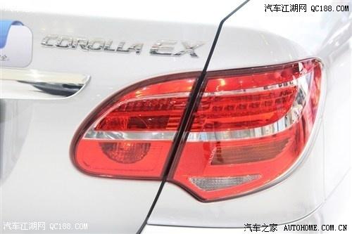 一汽丰田花冠2014款旧车置换 花冠新款置换多少钱高清图片