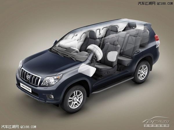 丰田旗下的新款SUV车型 新普拉多 4.0L车型正式上市高清图片