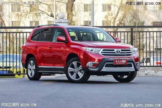 2013款 丰田汉兰达 2.7l 两驱紫金版 7座高清图片