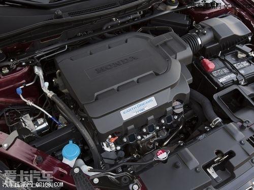 v6版本新雅阁采用的j35y型发动机图片