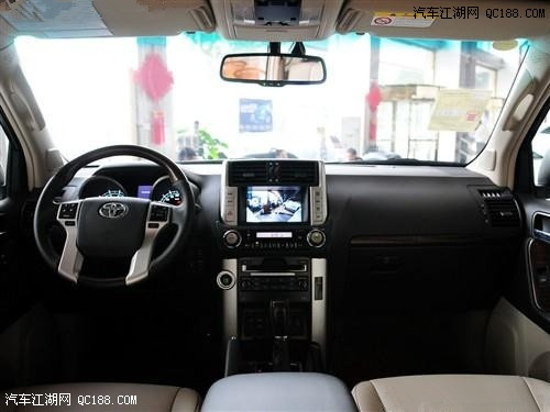 丰田霸道4000越野车 底盘:-丰田普拉多4000中东版 44万优惠争当第一高清图片