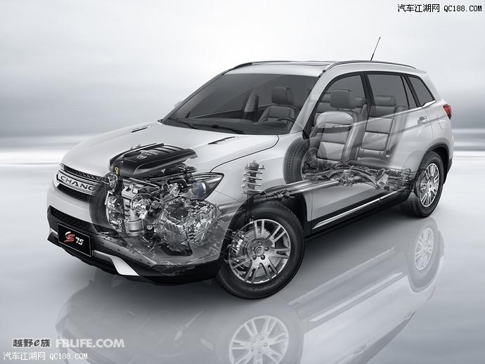 长安CS75最新报价及优惠长安汽车怎么样10万左右的越野车有什么最高清图片