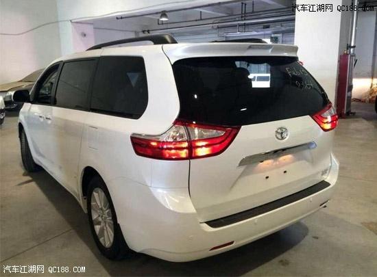 天津美规进口丰田塞纳3.5两驱3.5四驱 优惠促销高清图片