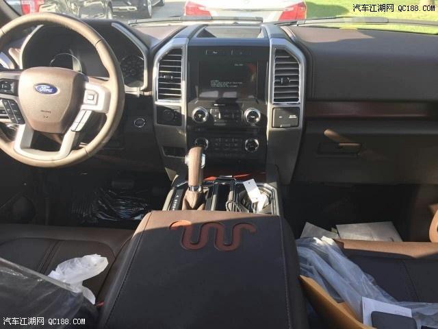 福特猛禽f150墨西哥版改装suv价格 墨西哥版福特f150猛禽改装后盖内衬