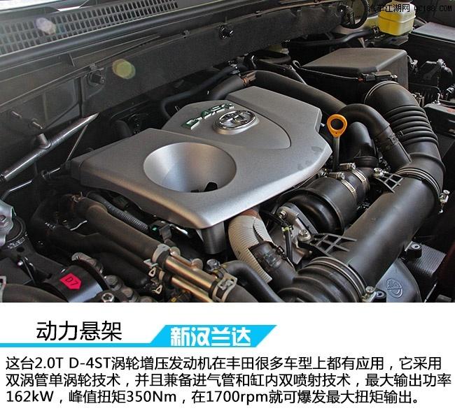2016广汽丰田汉兰达最低价汉兰达最低价2.0T高清图片
