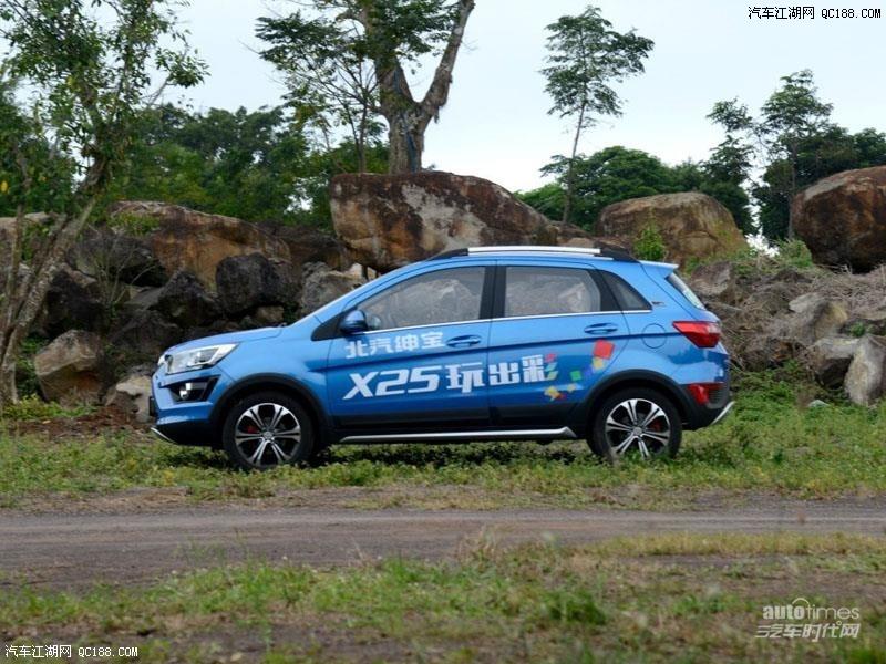 绅宝X25最新报价行情降2万北京现车裸车促销售全国高清图片