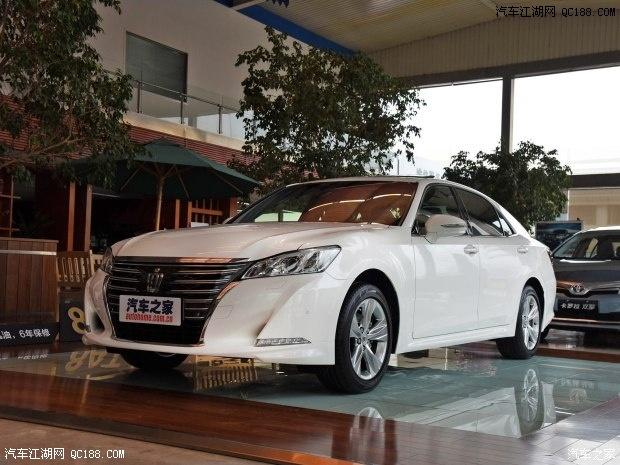 丰田皇冠2016款2.0T优惠多少钱2.5L怎么样高清图片