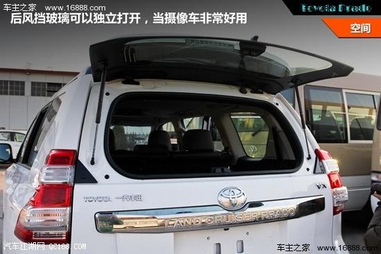 丰田普拉多最新降价12万16款现车 全国可上牌高清图片