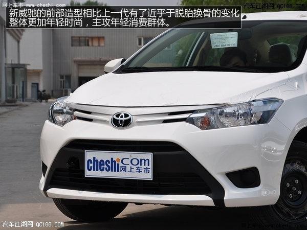 威驰的作为丰田在中国市场上的入门级三厢车给人留下了品质良好的高清图片