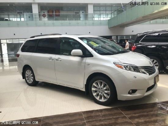 丰田美规塞纳3.5L最新报价塞纳全国最低多少钱高清图片