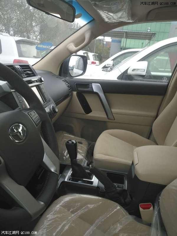 丰田霸道4000报价中东版普拉多4.0最低多少钱高清图片