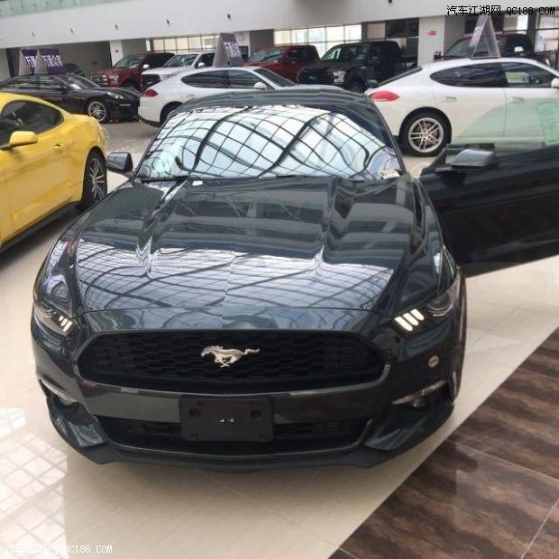 福特野马平行进口车现车手续全颜色可选配置可改有意者电询高清图片