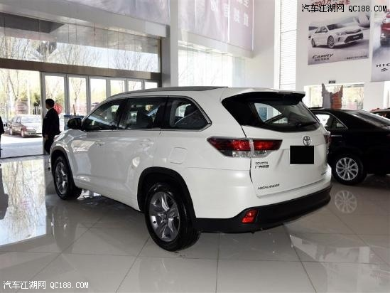 汉兰达现车销售全国汉兰达2.0T售价汉兰达七座空间-丰田汉兰达哪里有高清图片