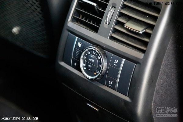 奔驰空调按键功能图解