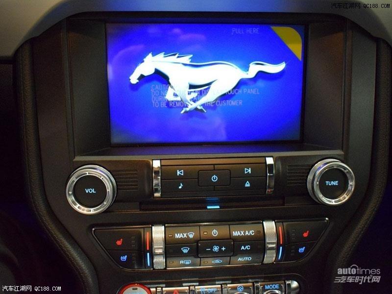 原装进口福特跑车2017款野马P版多少钱高清图片