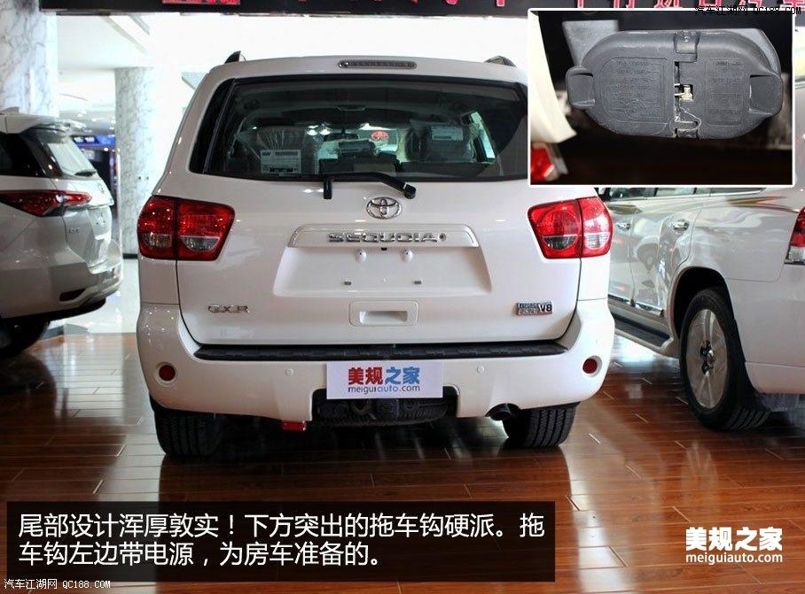 2016款丰田红杉GXR5.7V8中东版手续齐全售价72万高清图片