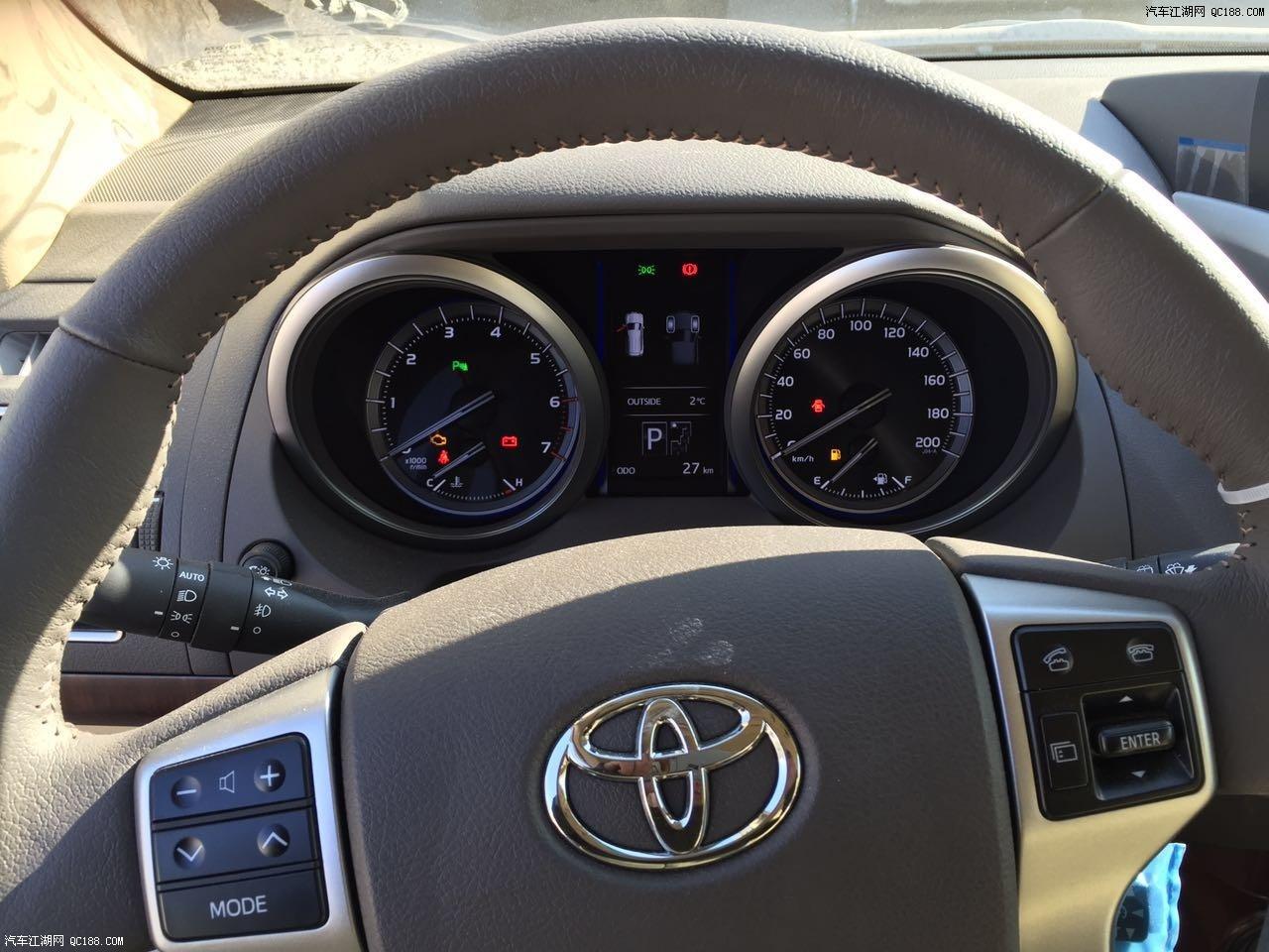 16款丰田普拉多霸道4000VXR 内饰豪华动力强劲价格优惠高清图片