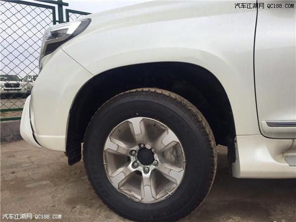 2017款丰田霸道4000中东版天津港最低价格高清图片