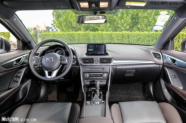 马自达CX-4在内饰部分和CX-5有很多相似之处.只不过出于车辆定高清图片