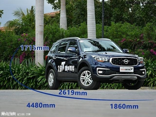 宽1860mm、高1715mm、轴距2619 mm.与老款车型相比,长度减高清图片