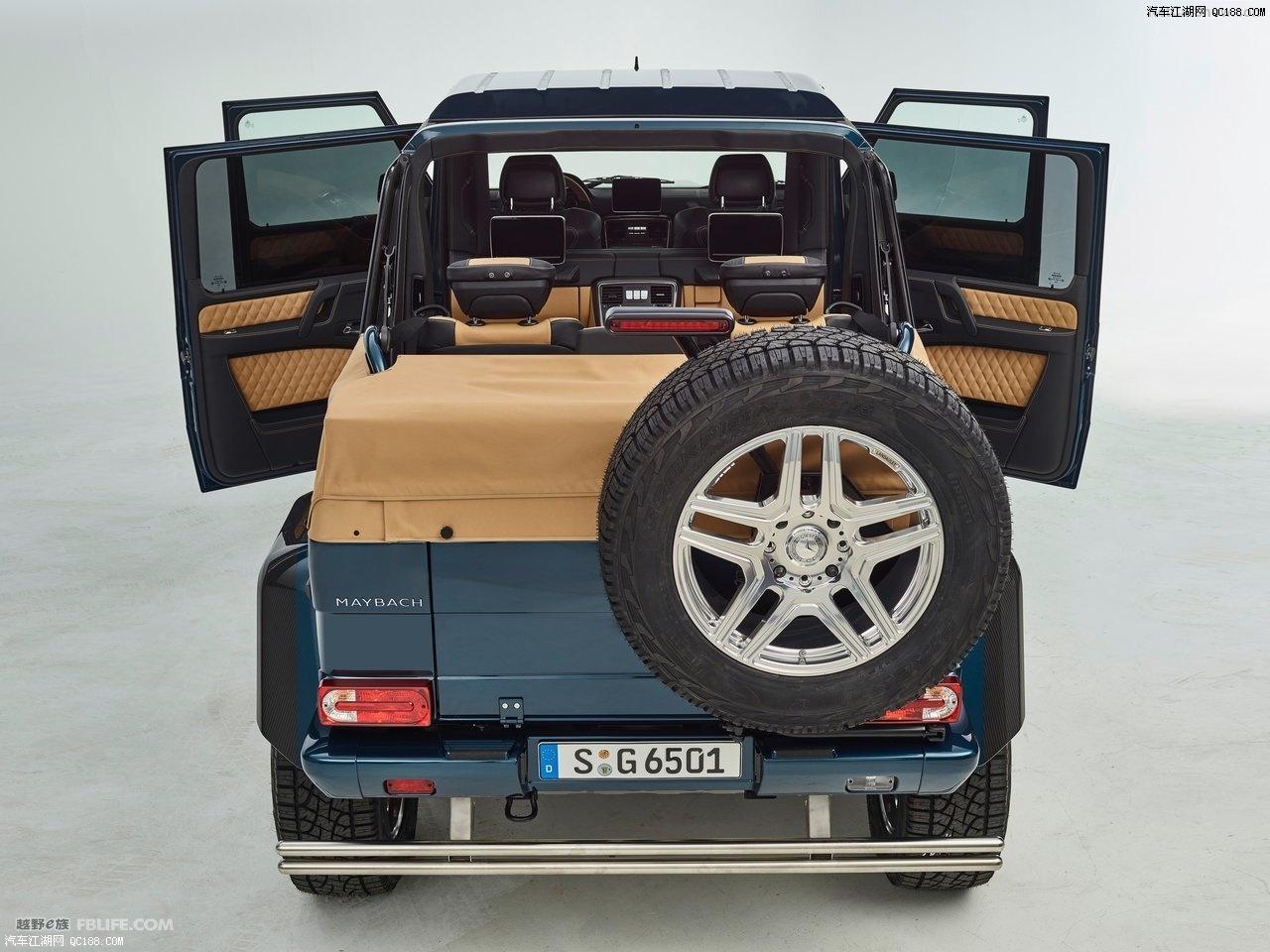 奔驰迈巴赫G65敞篷越野新车报价图片