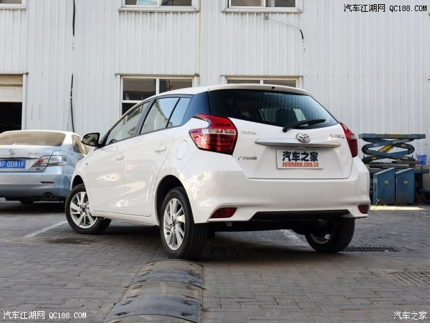 一汽丰田威驰FS两厢车上市威驰FS对比致炫选哪款高清图片