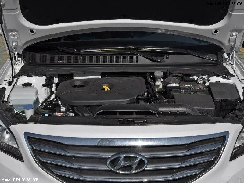 名图搭载的三种动力1.6t1.8l2.0l自然吸气发动机