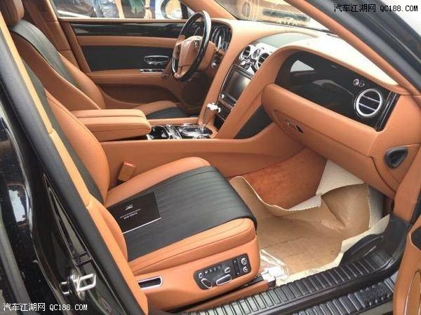 宾利飞驰V8发动机强大动力4.0T欧规现车报价